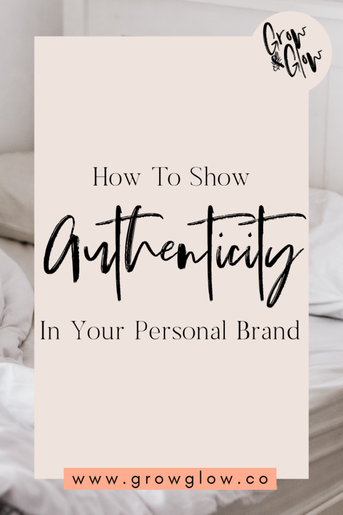 authenticity personal brand