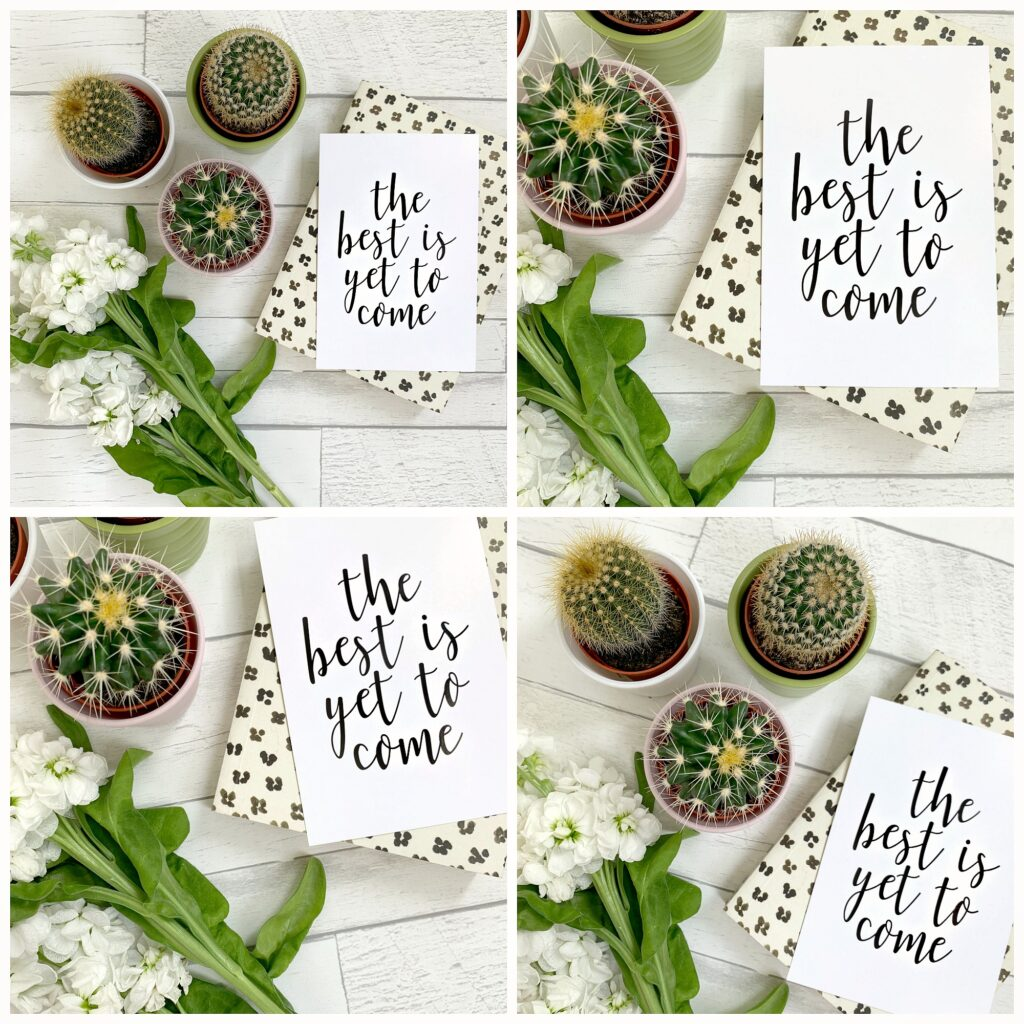 how to create flat lays