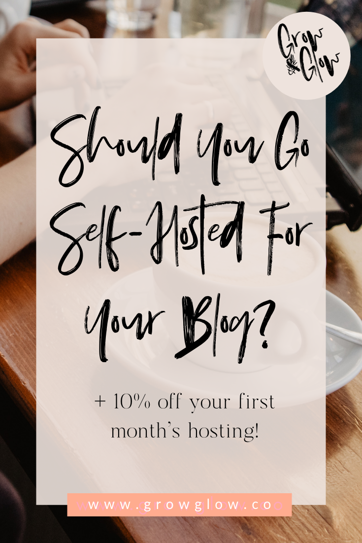 self hosted blog graphic