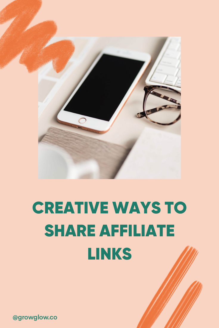 best ways to share affiliate links