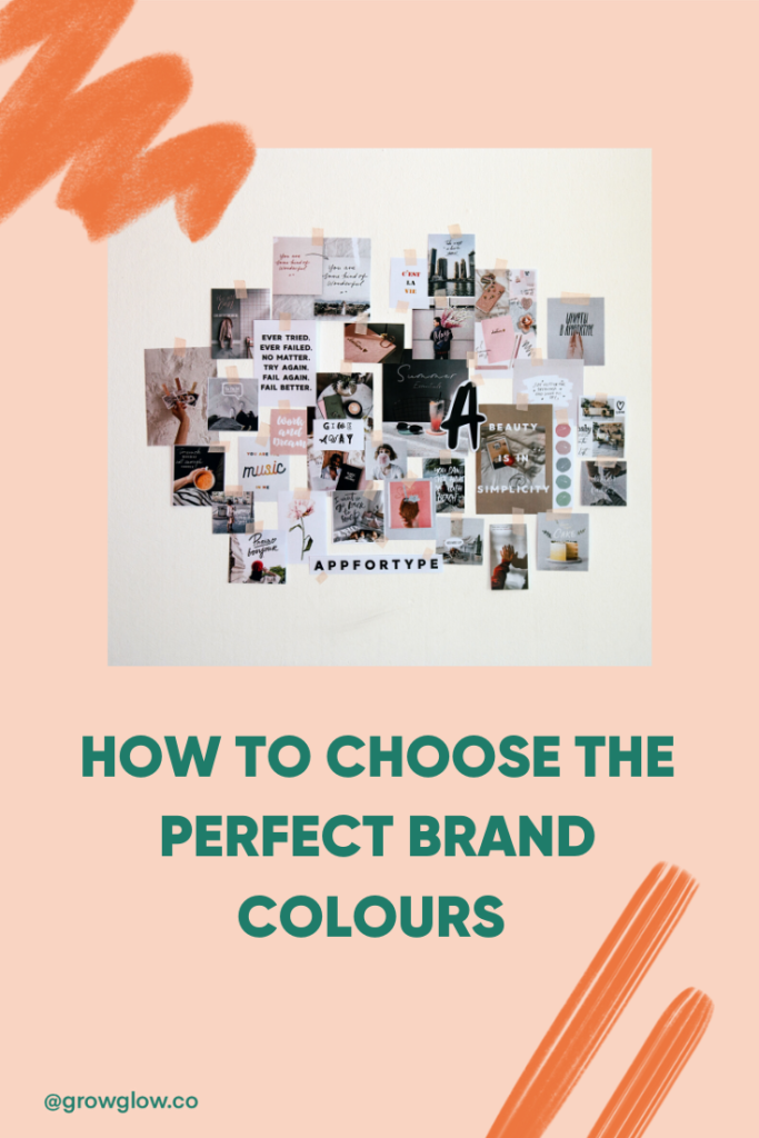 How to choose brand colours for your blog