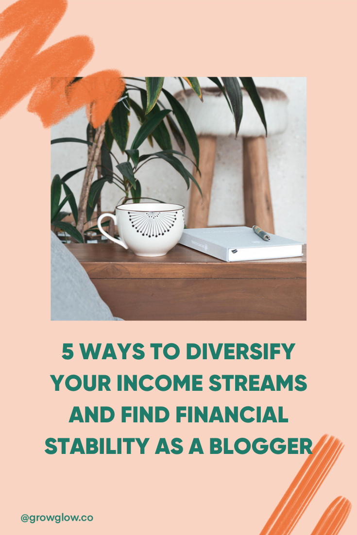 How to diversify income streams for bloggers