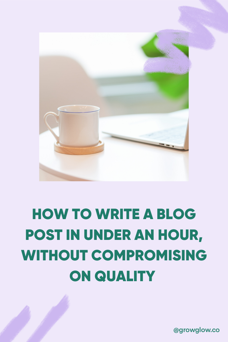 How to write blog posts quickly