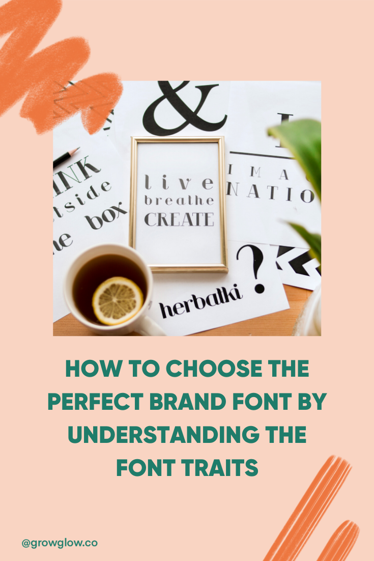 How to pick the perfect font for your brand