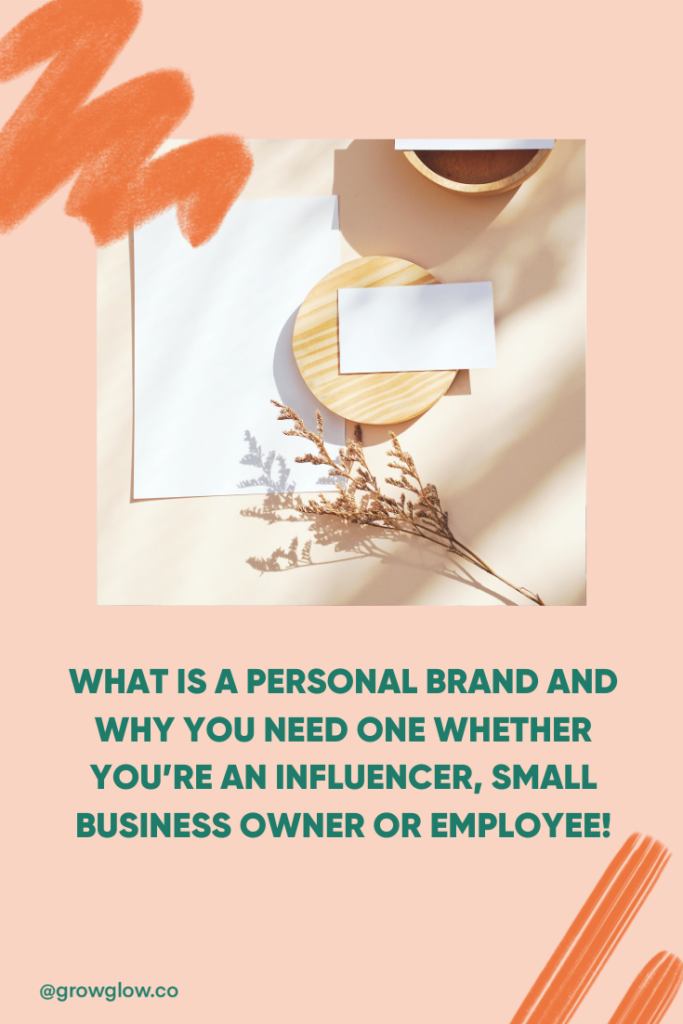 What is a personal brand for influencers?